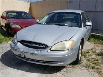 2001 Ford Taurus for sale in North Miami, FL