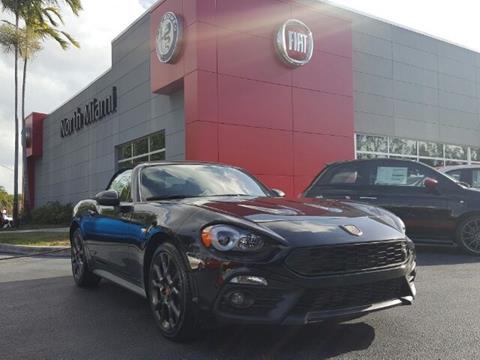 2017 FIAT 124 Spider for sale in North Miami, FL