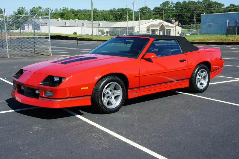 1990 Chevrolet Camaro IROC Z 2dr Convertible In Anniston AL