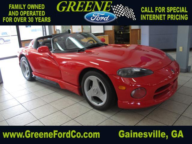 used 1992 dodge viper rt 10 in gainesville ga at greene ford. Black Bedroom Furniture Sets. Home Design Ideas