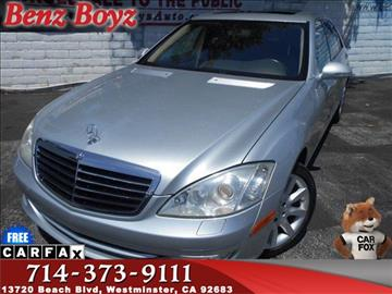 2007 Mercedes-Benz S-Class for sale in Westminster, CA