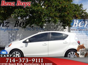 2014 Toyota Prius c for sale in Westminster, CA