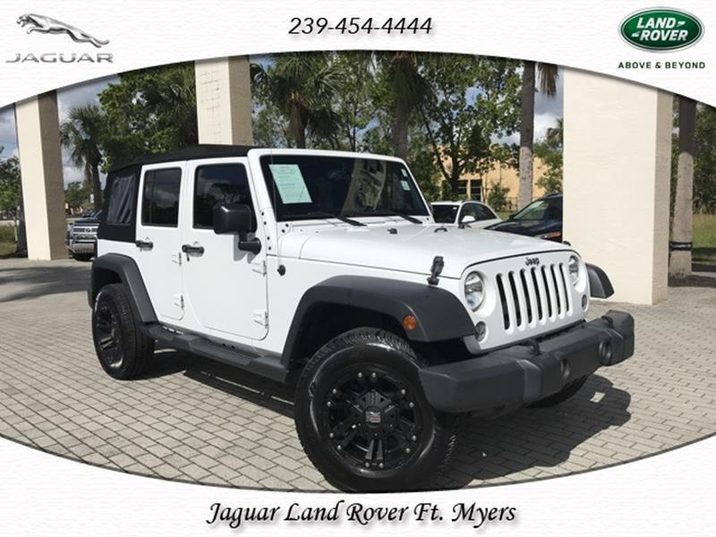 jeep wrangler for sale in fort myers fl. Black Bedroom Furniture Sets. Home Design Ideas
