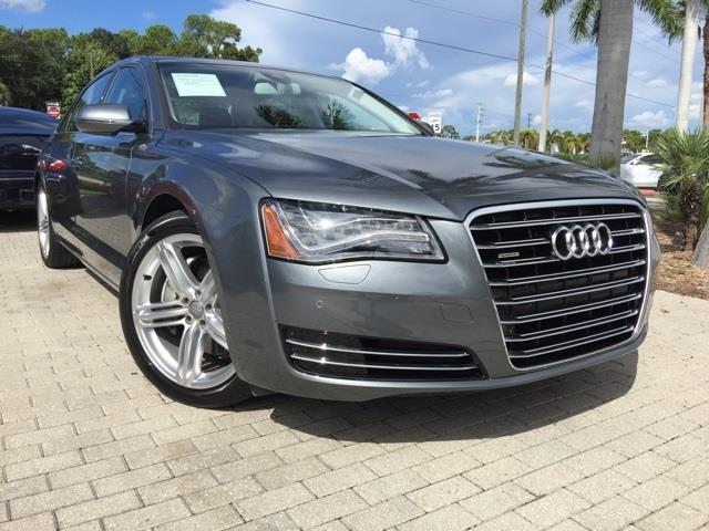 2014 audi a8 for sale in fort myers fl. Black Bedroom Furniture Sets. Home Design Ideas