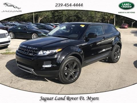 2015 Land Rover Range Rover Evoque Coupe for sale in Fort Myers, FL