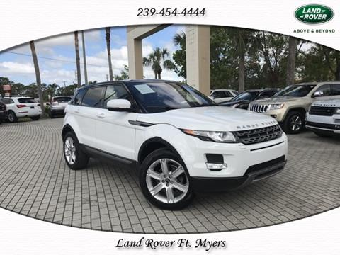 2013 Land Rover Range Rover Evoque for sale in Fort Myers, FL