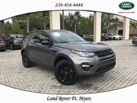 2016 Land Rover Discovery Sport for sale in Fort Myers, FL