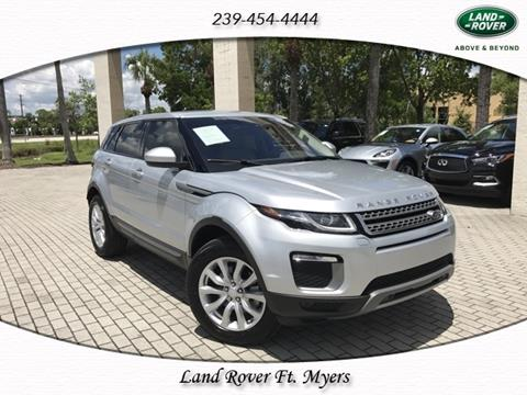 2016 Land Rover Range Rover Evoque for sale in Fort Myers, FL