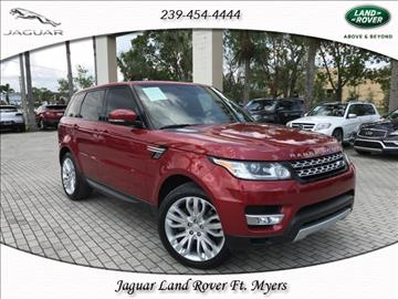 2015 Land Rover Range Rover Sport for sale in Fort Myers, FL