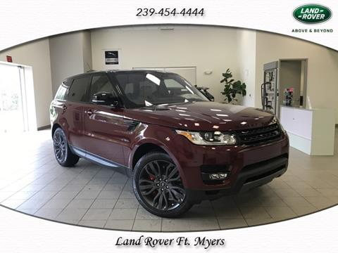 2017 Land Rover Range Rover Sport for sale in Fort Myers, FL