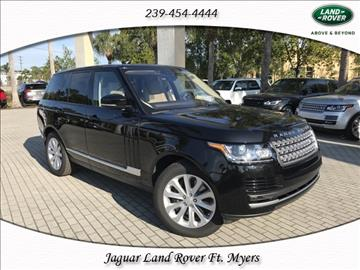2017 Land Rover Range Rover for sale in Fort Myers, FL
