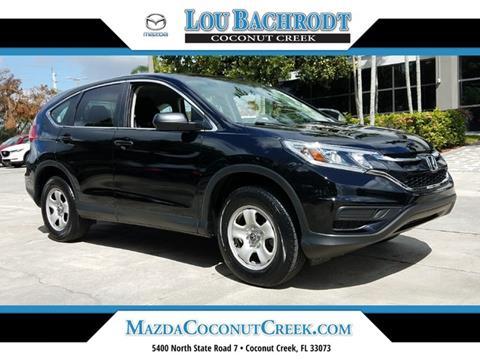 2016 Honda CR-V for sale in Coconut Creek, FL