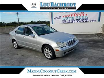 2002 Mercedes-Benz C-Class for sale in Coconut Creek, FL