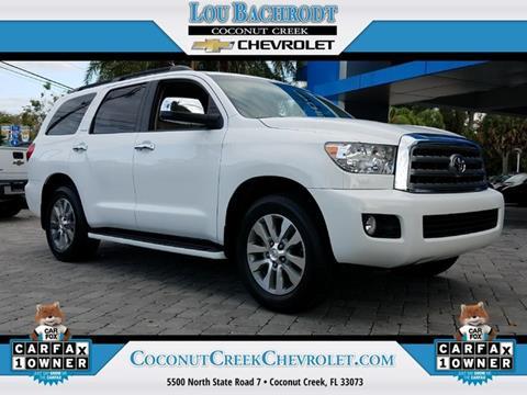 2015 Toyota Sequoia for sale in Coconut Creek, FL