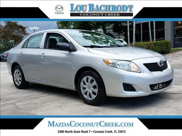 2010 Toyota Corolla for sale in Coconut Creek, FL