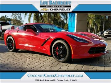 2017 Chevrolet Corvette for sale in Coconut Creek, FL