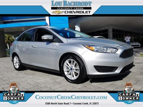 2016 Ford Focus for sale in Coconut Creek, FL