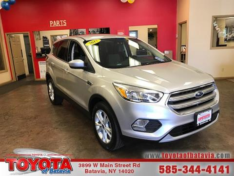 2017 Ford Escape for sale in Batavia NY