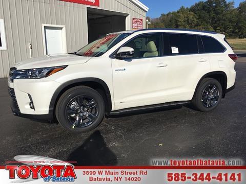2018 Toyota Highlander Hybrid for sale in Batavia NY