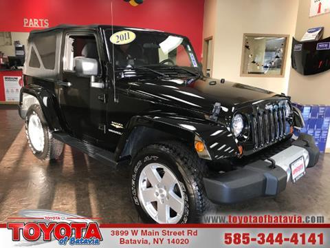 2011 Jeep Wrangler for sale in Batavia NY