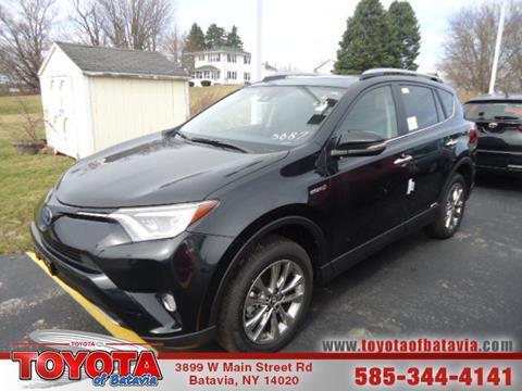2017 Toyota RAV4 Hybrid for sale in Batavia, NY