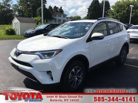 2017 Toyota RAV4 Hybrid for sale in Batavia NY