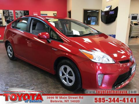 2012 Toyota Prius for sale in Batavia, NY