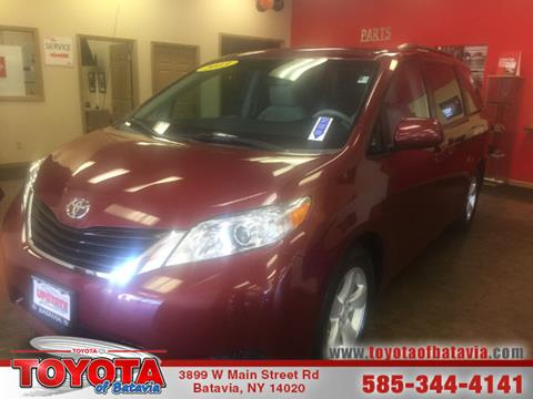 2013 Toyota Sienna for sale in Batavia NY