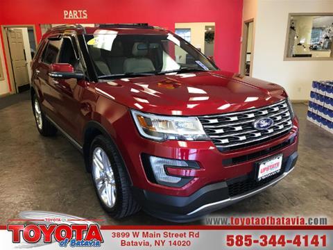 2016 Ford Explorer for sale in Batavia, NY