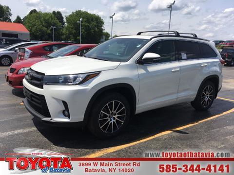 2017 Toyota Highlander for sale in Batavia NY