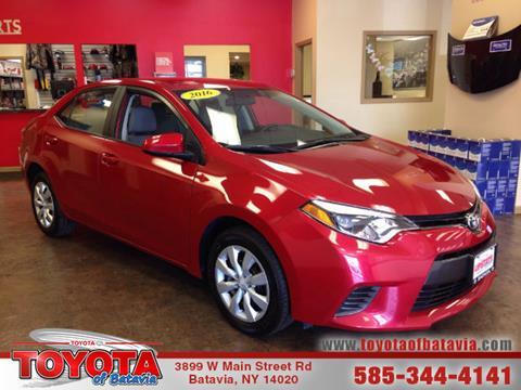 2016 Toyota Corolla for sale in Batavia, NY