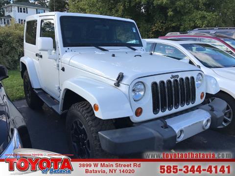 2012 Jeep Wrangler for sale in Batavia, NY