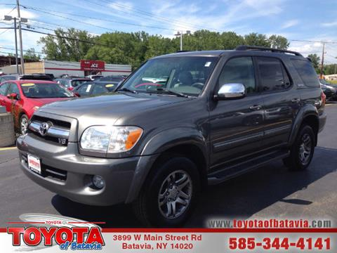 2007 Toyota Sequoia for sale in Batavia, NY