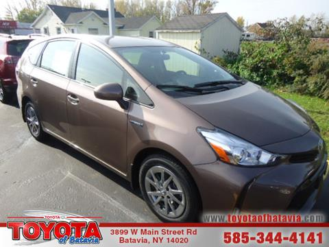 2017 Toyota Prius v for sale in Batavia, NY