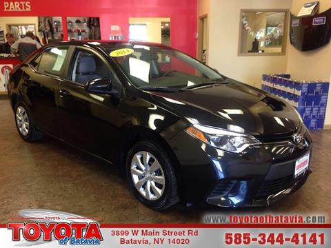 2014 Toyota Corolla for sale in Batavia, NY