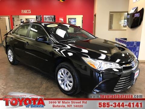2016 Toyota Camry Hybrid for sale in Batavia, NY