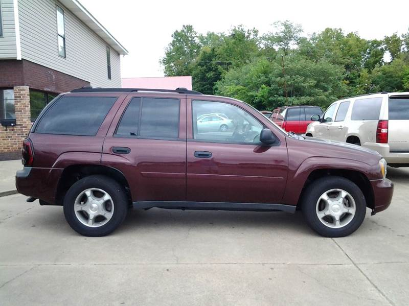 2007 chevrolet trailblazer ls 4dr suv 4wd in clarksville tn wolff auto sales. Black Bedroom Furniture Sets. Home Design Ideas