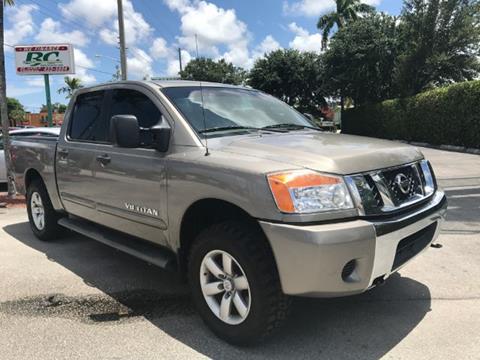 2008 Nissan Titan for sale in Lake Worth, FL