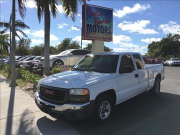 2003 GMC Sierra 1500 for sale in Lake Worth, FL