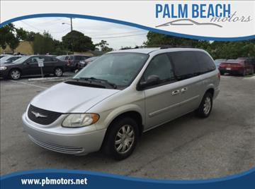 2004 Chrysler Town and Country for sale in Lake Worth, FL