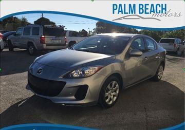 2012 Mazda MAZDA3 for sale in Lake Worth, FL