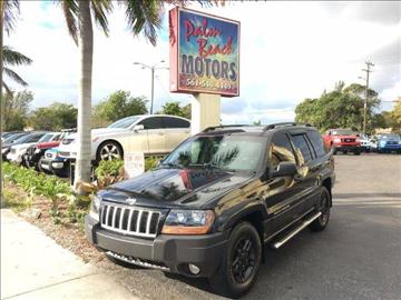 2004 Jeep Grand Cherokee for sale in Lake Worth, FL