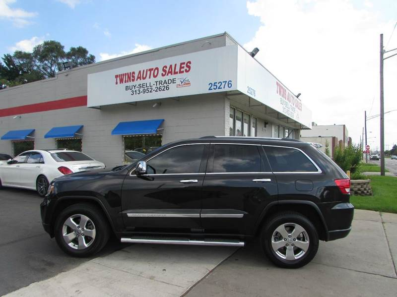 2012 JEEP GRAND CHEROKEE LIMITED 4X4 4DR SUV black 2012 jeep grand cherokee limitedsuper clean