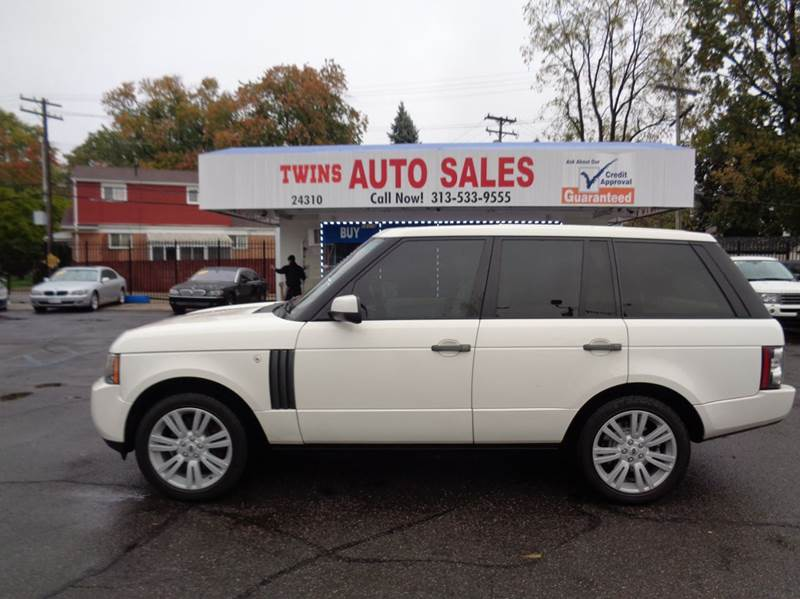 2010 LAND ROVER RANGE ROVER HSE 4X4 4DR SUV white 2010 land rover range rover hse luxurysuper cl
