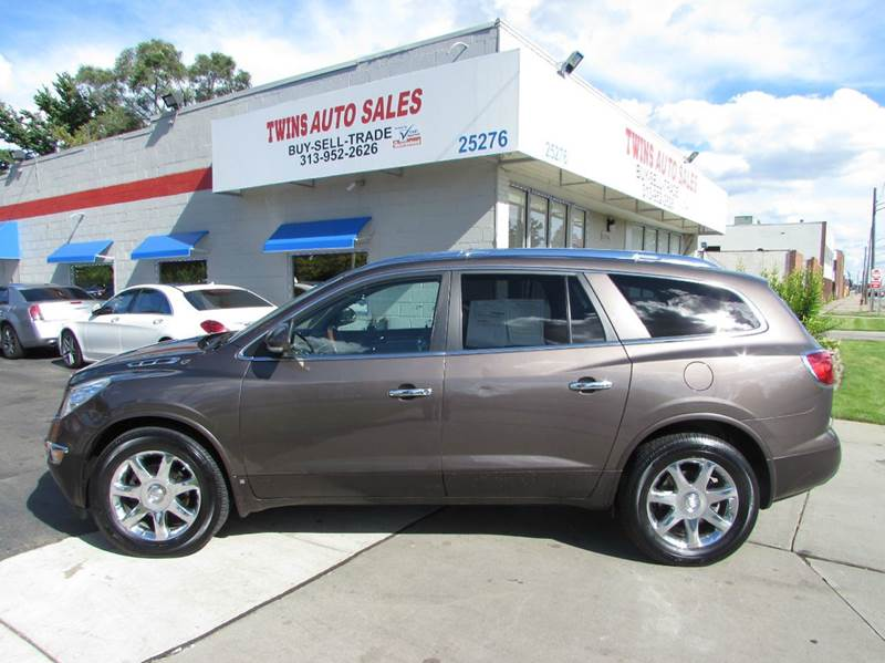 2008 BUICK ENCLAVE CXL AWD 4DR SUV brown 2008 buick enclave cxl super cleanmust seewe financ