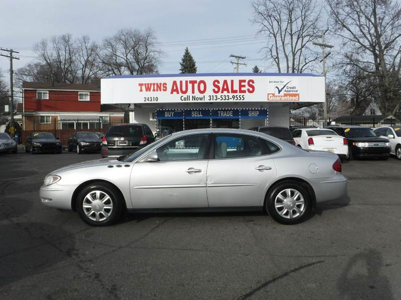 2005 BUICK LACROSSE CX 4DR SEDAN silver 2005 buick lacrosse super cleanmust seewe finance