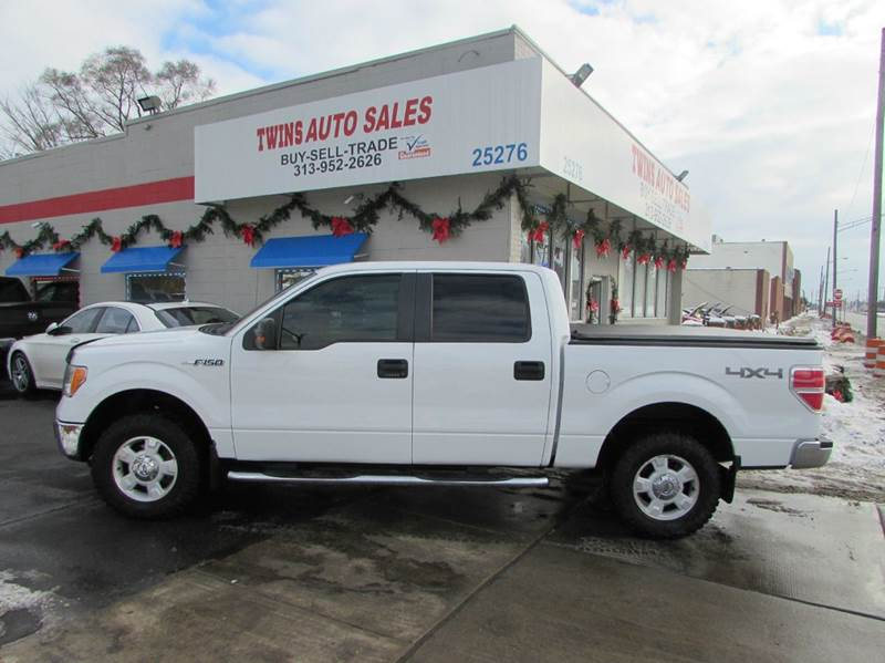 2009 FORD F-150 XL 4X4 4DR SUPERCREW STYLESIDE 5 white 2009 ford f150 xlt supercrew super clean
