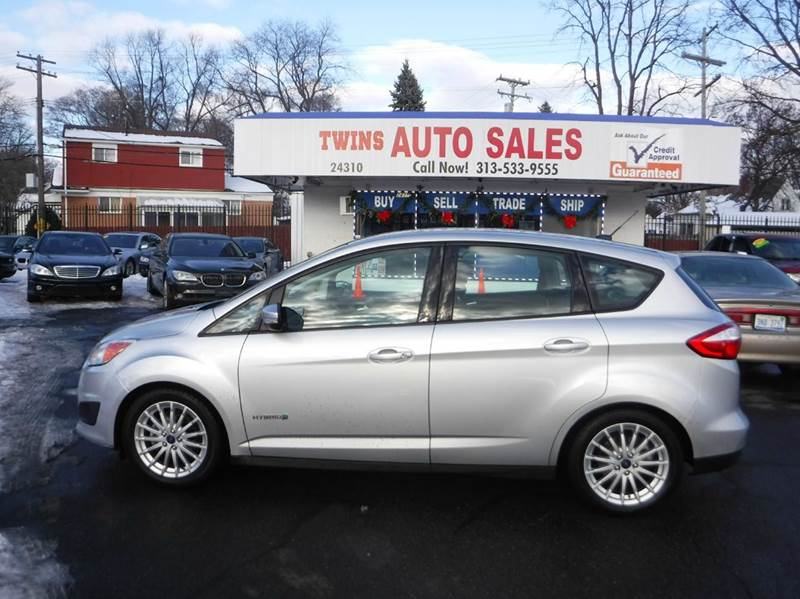 2013 FORD C-MAX HYBRID SE 4DR WAGON silver 2013 ford cmax hybrid super cleangreat gas saverf