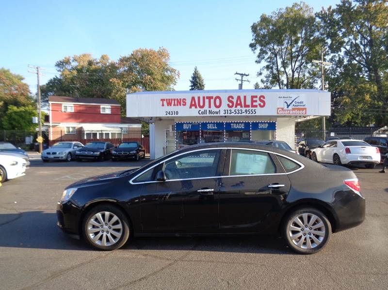 2014 BUICK VERANO BASE 4DR SEDAN black 2014 buick verano super cleanlow milesfinancing avail