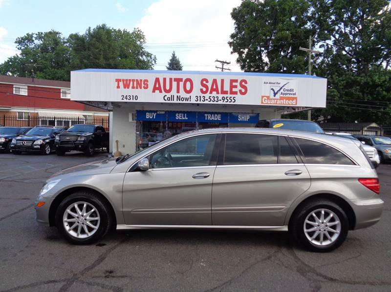 2006 MERCEDES-BENZ R-CLASS R500 AWD 4MATIC 4DR WAGON gray 2006 mercedes benz r500super cleanm
